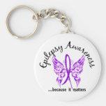 Grunge Tattoo Butterfly 6.1 Epilepsy Keychains