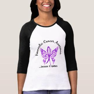 Grunge Tattoo Butterfly 6.1 Pancreatic Cancer T Shirt