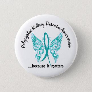 Grunge Tattoo Butterfly 6.1 PKD 6 Cm Round Badge