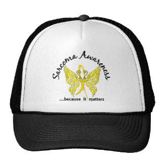 Grunge Tattoo Butterfly 6.1 Sarcoma Trucker Hat