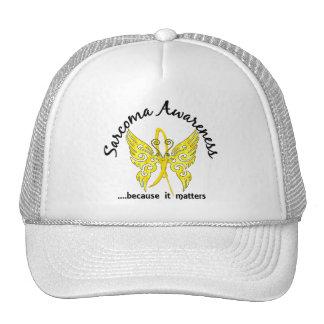 Grunge Tattoo Butterfly 6.1 Sarcoma Trucker Hats