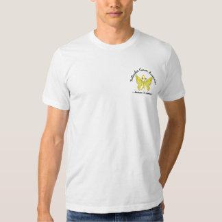 Grunge Tattoo Butterfly 6.1 Testicular Cancer T Shirt