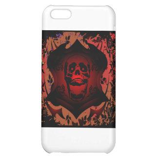 Grunge Tattoo Skull Full Background iPhone 5C Covers