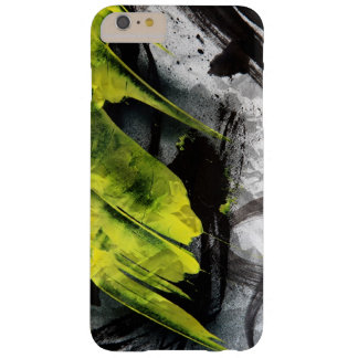 Grunge texture expressive brush strokes barely there iPhone 6 plus case