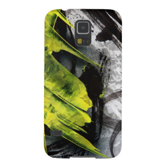 Grunge texture expressive brush strokes galaxy s5 case