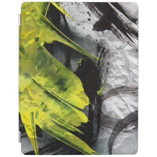 Grunge texture expressive brush strokes iPad cover