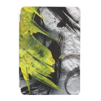 Grunge texture expressive brush strokes iPad mini cover