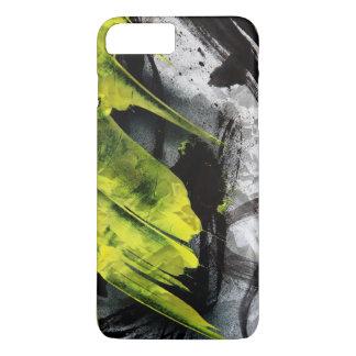 Grunge texture expressive brush strokes iPhone 8 plus/7 plus case