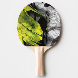 Grunge texture expressive brush strokes ping pong paddle