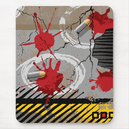 Grunge Texture Mouse Pad