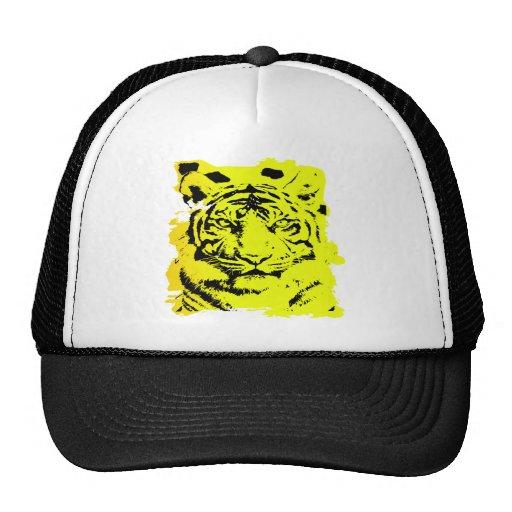 Grunge Tiger Tattoo Mesh Hat