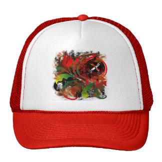 grunge tulip hat