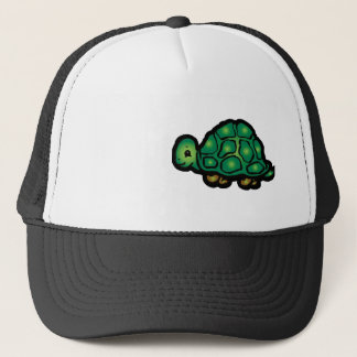 Grunge Turtle Trucker Hat