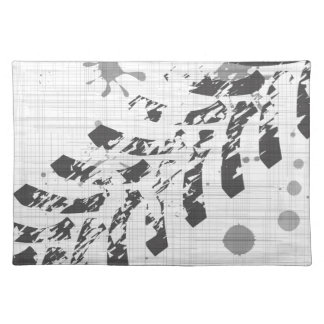 Grunge Tyre Marks Placemat