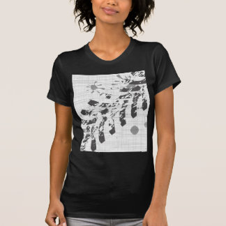 Grunge Tyre Marks T-Shirt
