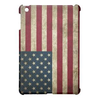 Grunge U.S. Flag iPad Mini Covers