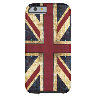 Grunge Union Jack - classic - vintage look Tough iPhone 6 Case