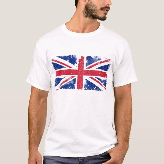 Grunge Union Jack Flag T-Shirt