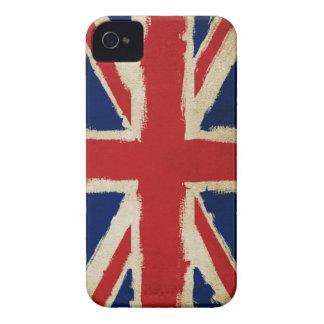 Grunge Union Jack iPhone 4 Case