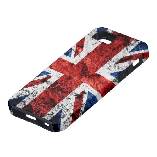 Grunge Union Jack iPhone 5 Cases