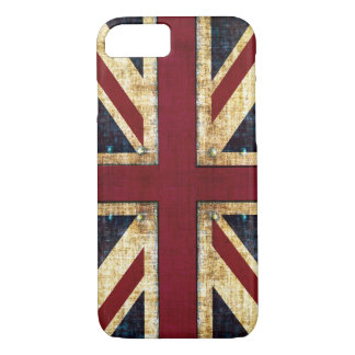 Grunge Union Jack iPhone 7 Case