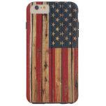 Grunge United States Flag Tough iPhone 6 Plus Case