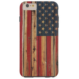 Grunge United States Flag Tough iPhone 6 Plus Case