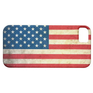 Grunge USA Flag iPhone 5 Cover