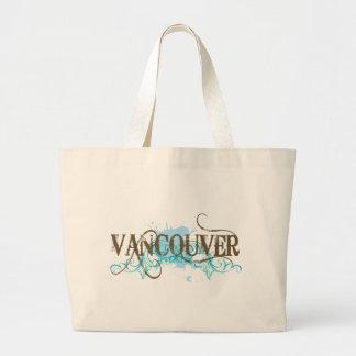 Grunge Vancouver Jumbo Tote Bag