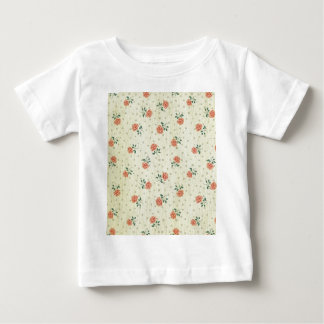 Grunge,vintage,coral,floral,country,chic,victorian Baby T-Shirt