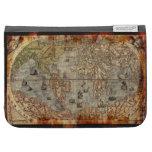 Grunge Vintage Old World Map Design Cases For The Kindle