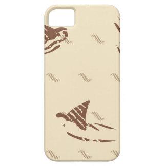 Grunge Vintage sharks 3 fins Case For The iPhone 5