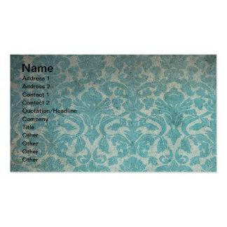 Grunge Vintage Wallpaper Pack Of Standard Business Cards