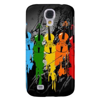 Grunge Violins iPhone 3G/3GS Case