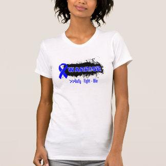Grunge - WARRIOR - Anal Cancer T-shirt