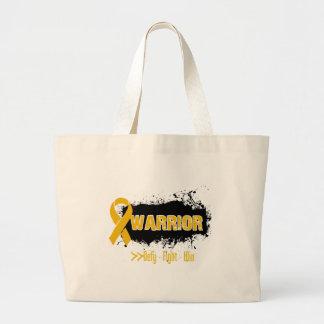 Grunge - WARRIOR - Appendix Cancer Bag