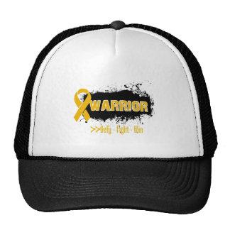 Grunge - WARRIOR - Appendix Cancer Mesh Hats