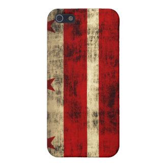 Grunge Washington DC Flag iPhone 5 Cover