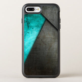 Grunge Watercolor and Metal Plate | Phone Case