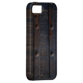 Grunge Wood and Rusty Metal Armor iPhone 5 Case