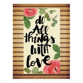 Grunge wood wall,floral, text,roses,vintage,rustic postcard