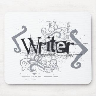 Grunge Writer Mousepads