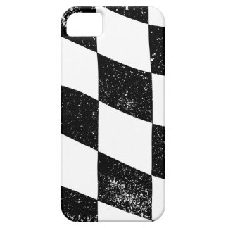 Grunged Chequered Flag iPhone 5 Covers