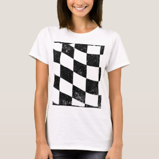 Grunged Chequered Flag T-Shirt