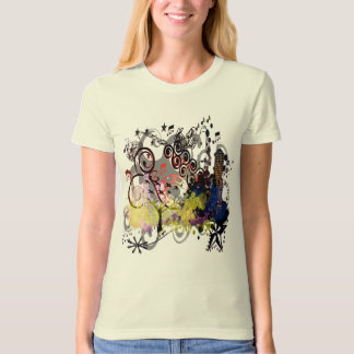 Grunged Tree In The City T-Shirt