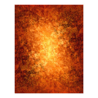 Grungy Autumn colors background orange and brown 21.5 Cm X 28 Cm Flyer