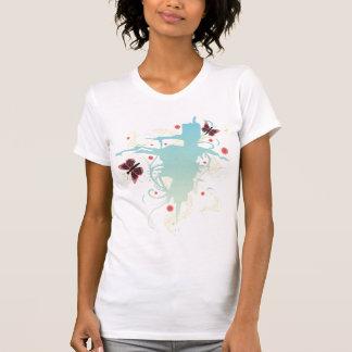 Grungy butterflies T-Shirt