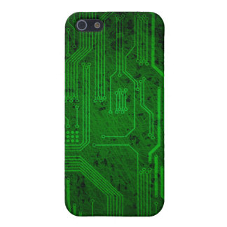 Grungy circuit cases for iPhone 5