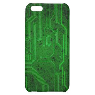 Grungy circuit iPhone 5C cases