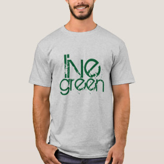 grungy cool live green environmental message T-Shirt